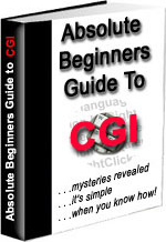 Ebook cover: Absolute Beginners Guide To CGI