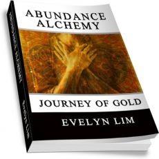 Ebook cover: Abundance Alchemy: Journey of Gold
