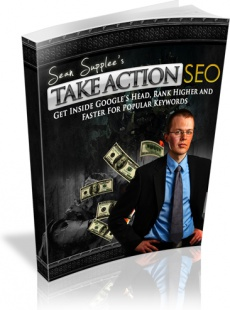 Ebook cover: Take Action SEO