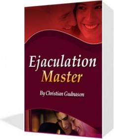Ebook cover: The Ejaculation Master