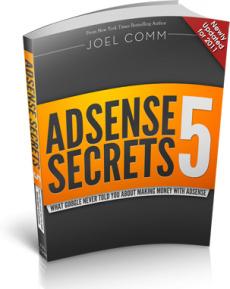 Ebook cover: AdSense Secrets 5