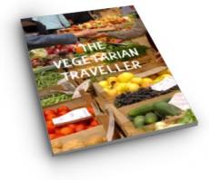 Ebook cover: The Vegetarian Traveller