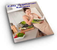 Ebook cover: Easy Vegetarian Recipes
