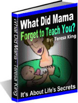 Ebook cover: What Did Mama Forget to Teach You?