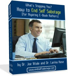Ebook cover: How to End Self Sabotage