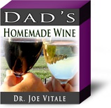 Ebook cover: Dad's Homemade Wine