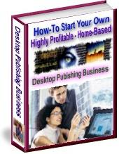 Ebook cover: Desktop Publishing Business