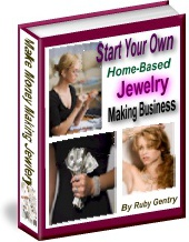 Ebook cover: Home Based Jewelry Making Business