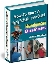Ebook cover: Home Based Handyman Business