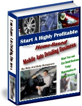 Ebook cover: Home Based Automobile Detailing Business