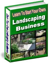 Ebook cover: Landscaping Business