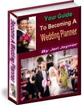 Ebook cover: Becoming A Wedding Planner