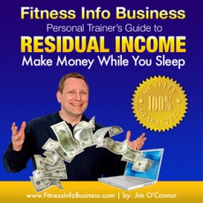 Ebook cover: FITNESS INFO BUSINESS