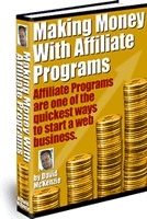 Ebook cover: Making Money With Affiliate Programs