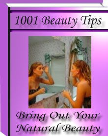 Ebook cover: 1001 Nautural Beauty Tips