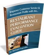 Ebook cover: Restaurant Performance Evaluation Guide