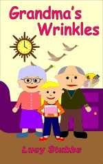 Ebook cover: Grandma's Wrinkles