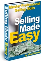 Ebook cover: Selling Made Easy