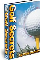 Ebook cover: Golf Secrets