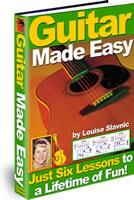 Ebook cover: Guitar Made Easy
