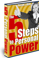 Ebook cover: The 5 Steps to Personal Power