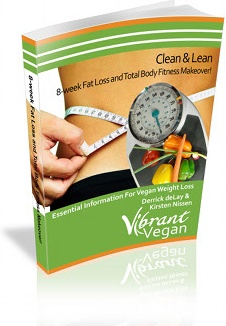 Ebook cover: Clean & Lean 8-week Fat Loss and Total Body Fitness Makeover!