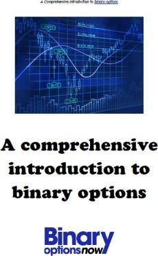 Ebook cover: A comprehensive introduction to Binary options.