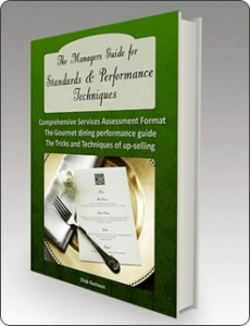 Ebook cover: The Managers Guide for Restaurant Standards & Performance Techniques