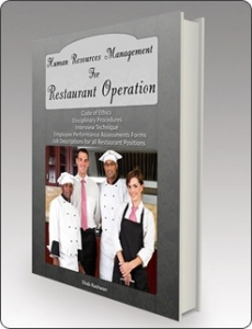 Ebook cover: Human Resources & Personnel Management For Restaurant Operation