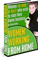 Ebook cover: Women working from home