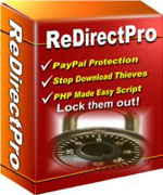 Ebook cover: Redirect Pro (PayPal Protection Scripts)