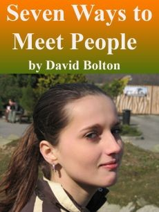 Ebook cover: Seven Ways to Meet People