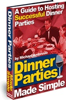 Ebook cover: Dinner Parties Made Simple
