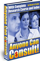 Ebook cover: Anyone can Consult