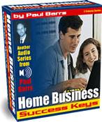 Ebook cover: Home Business Success Keys