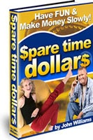 Ebook cover: Spare time dollars