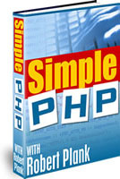 Ebook cover: Simple PHP