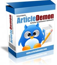 Ebook cover: ArticleDemon