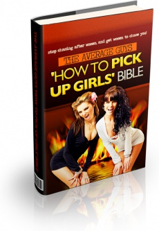 Ebook cover: The Average Guys 'How to Pick Up Girls' Bible