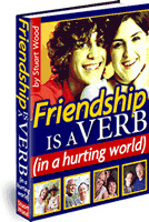 Ebook cover: Friendship is a Verb
