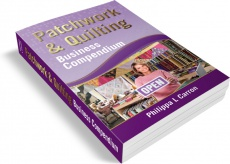 Ebook cover: Patchwork & Quilting Business