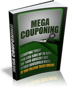 Ebook cover: Mega Couponing