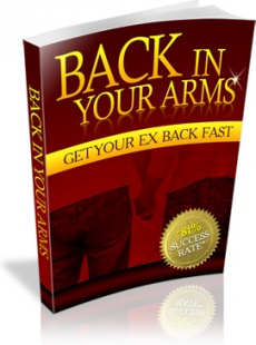 Ebook cover: Back In Your Arms
