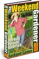 Ebook cover: The Weekend Gardener