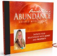 Ebook cover: Abundance - Guided Meditation