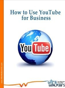 Ebook cover: How to Use YouTube for Business