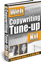 Ebook cover: Web Copywriting Tune-Up Kit
