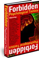 Ebook cover: Forbidden Psychological Tactics