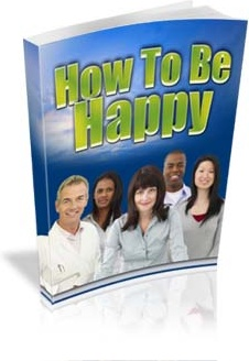 Ebook cover: How To Be Happy