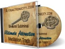 Ebook cover: Ultimate Attraction Meditation